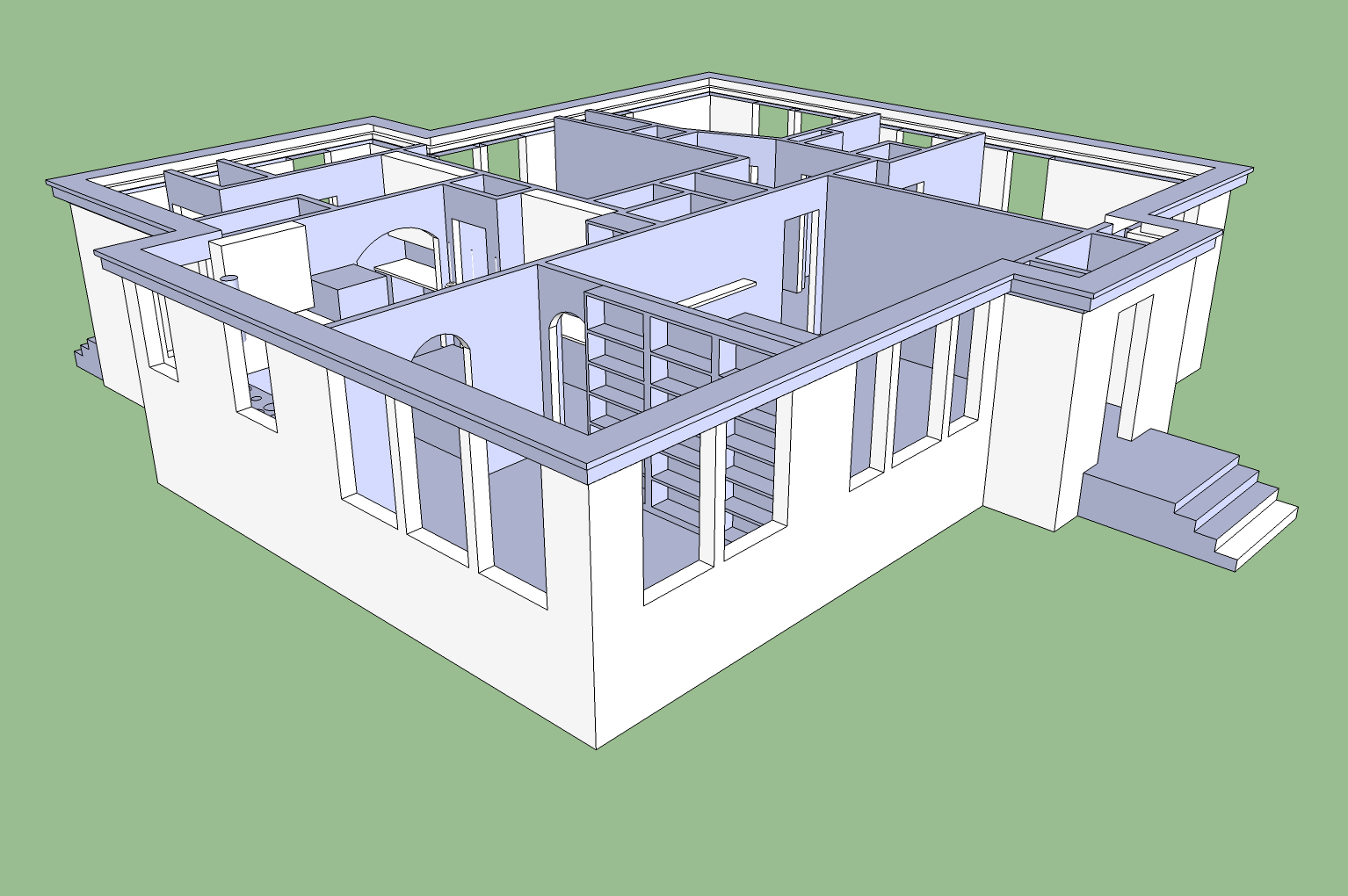 sketchup house plan creating your sketchup floor plans sketchup 3d floor plan sketchup 3d. Black Bedroom Furniture Sets. Home Design Ideas