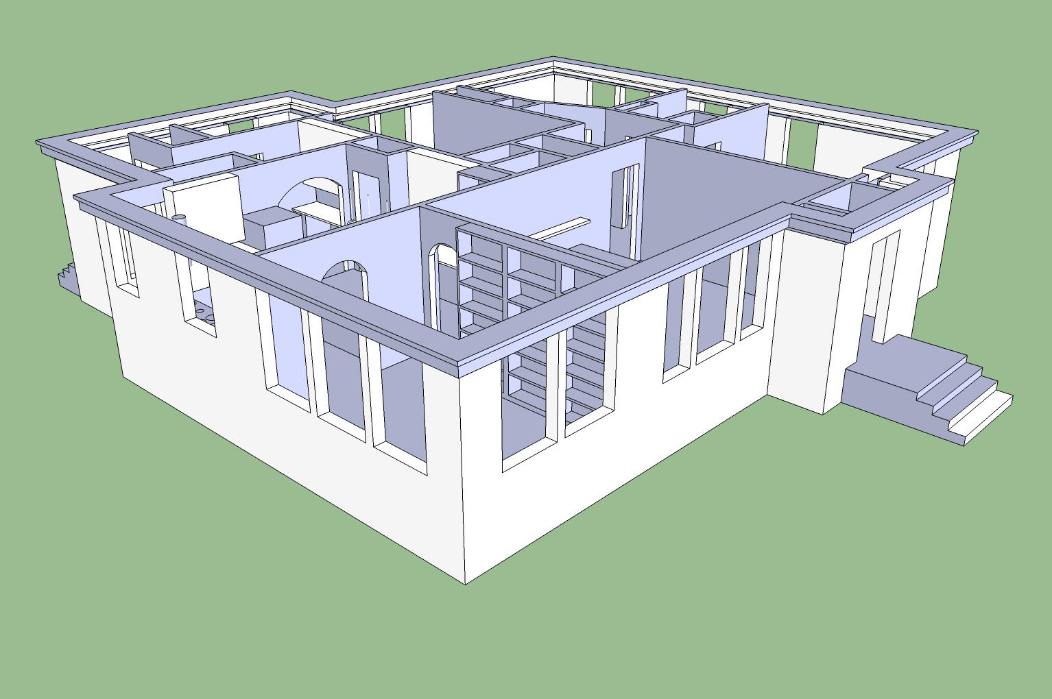 clienthouse sketchup modern building design plan modern house,Google Home Plans