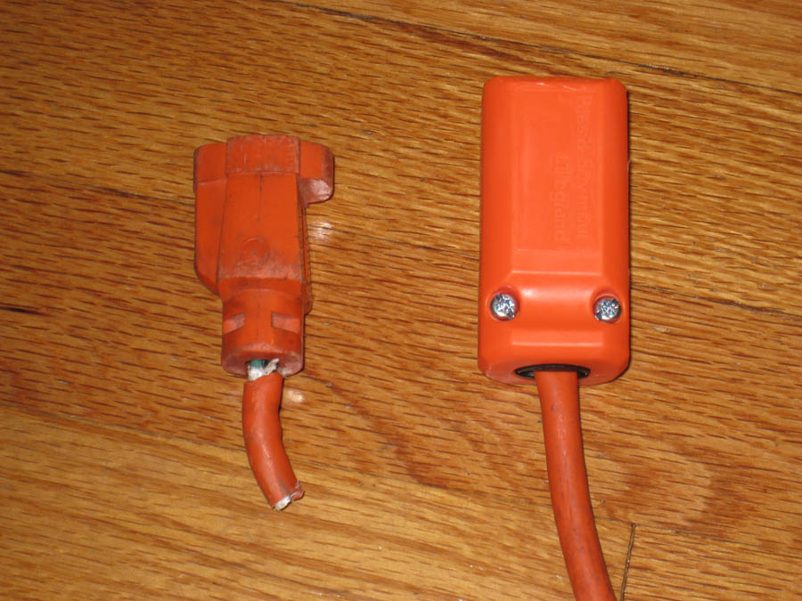 Bad Extension Cord : Repair your old extension cords jason patz