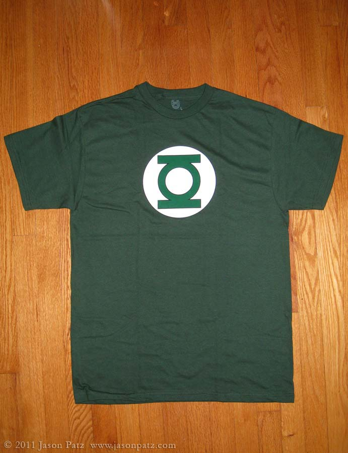 how to make a green lantern ring out of paper